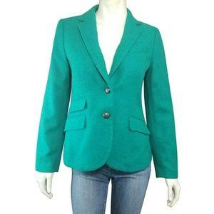 Talbots Felted Wool Blend Holiday Blazer Jacket